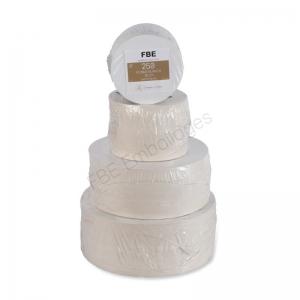 supports pâtissier ronds en carton blanc