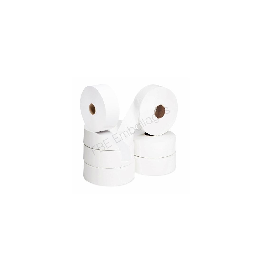 rouleaux papier toilette blanc