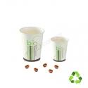 gobelets à café en carton biodégradable