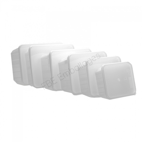 Barquettes alimentaires Carty  Opaques