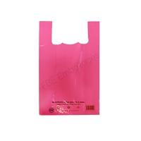 sac réutilisable plastique rose