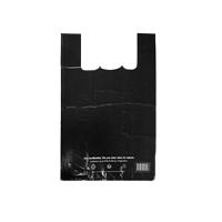 sac réutilisable en plastique noir