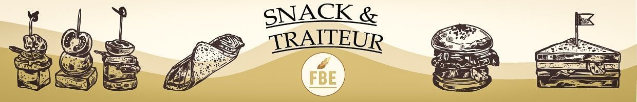 Emballages Snacking & Restauration rapide | FBE Emballages